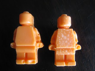 Lego men from minifigure mold