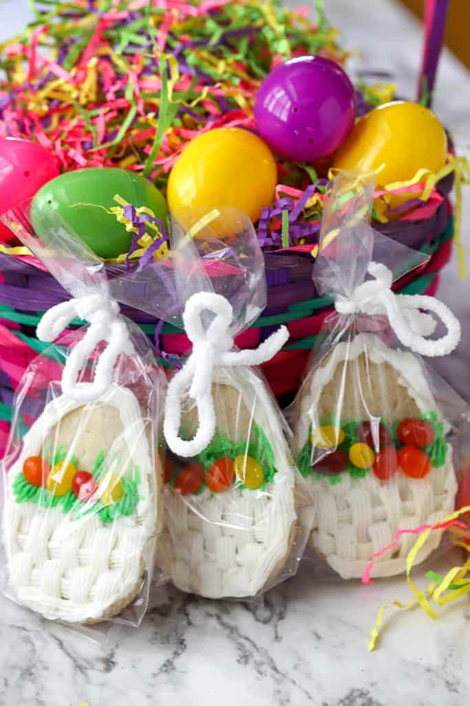 Easter Basket Cookie Gifts