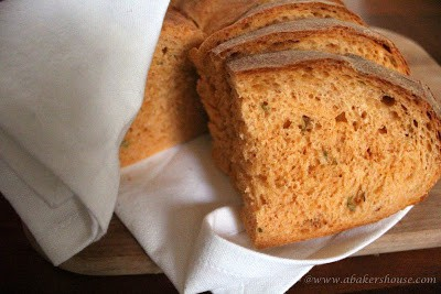 slices of tomato basil bread panera copycat recipe