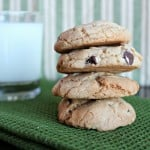 brown butter choc chip cookies