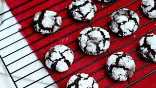 Coffee Chocolate Crinkles