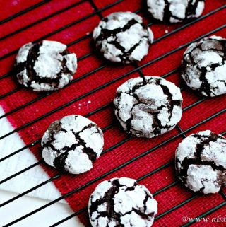 Coffee Chocolate Crinkles