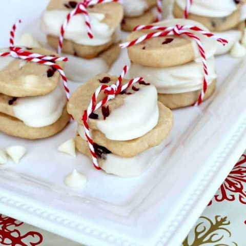 Dried Cranberry and White Chocolate Ginger Cookies