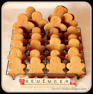 Gingerbread Cookies #BloggersforSandyHook