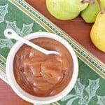 pear butter crock pot