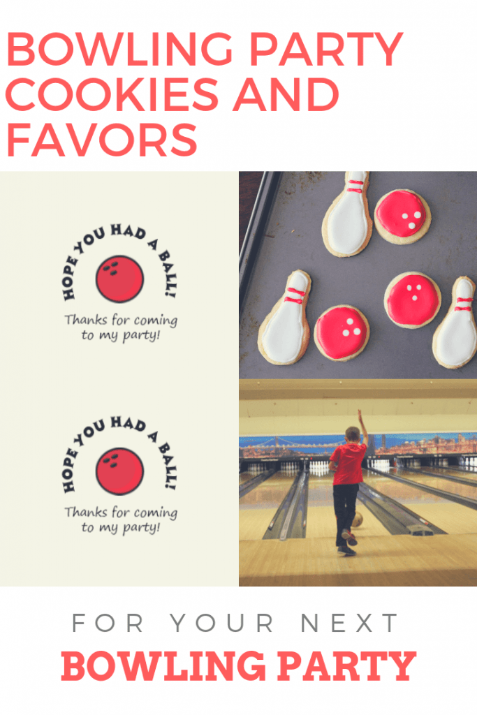 Pin for Free Bowling Party Favor
