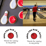 Collage Pin for Pinterest Bowling Party Favors