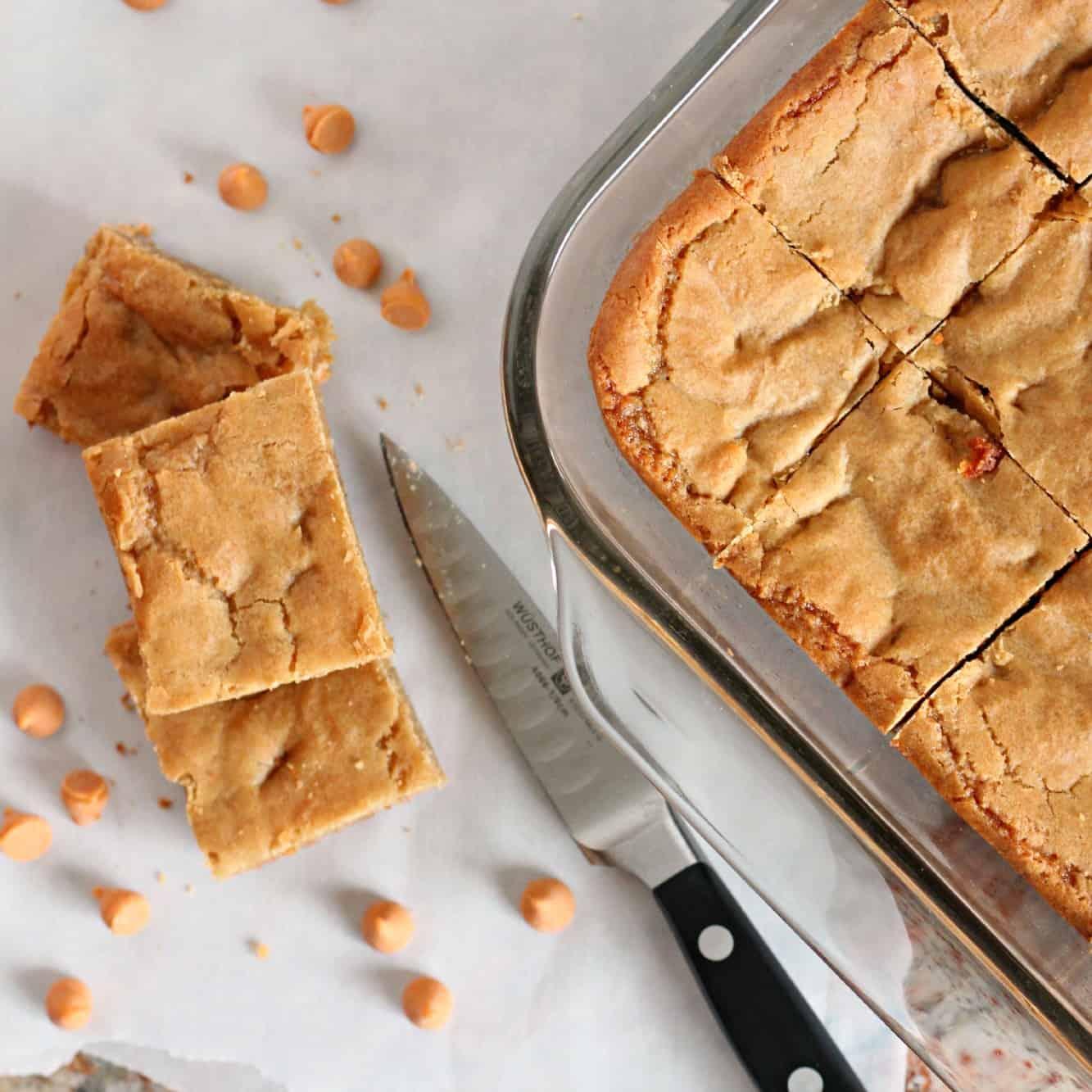 Butterscotch Blondies | A Baker's House