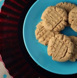 Dairy Free Peanut Butter Cookies