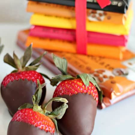 Chocolate Dipped Strawberries and Whole Trade Roses with #WholeFoods #Giveaway