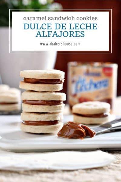 Pin recipe dulce de leche alfajores cookies