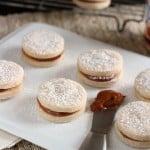 recipe for dulce de leche caramel cookies