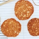 almond lace cookies