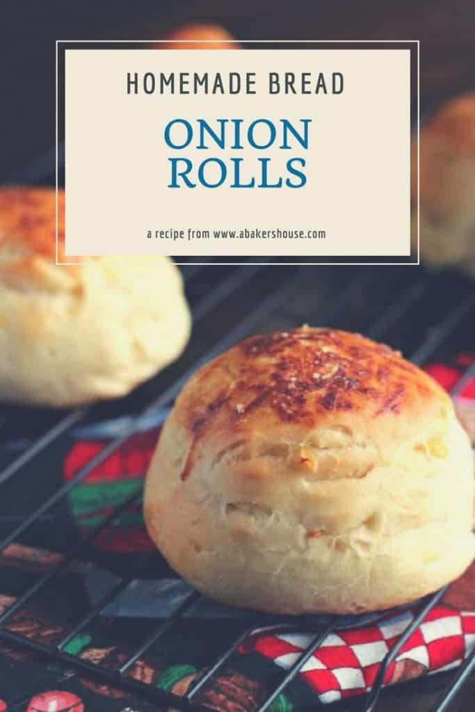 homemade bread recipe for onion rolls