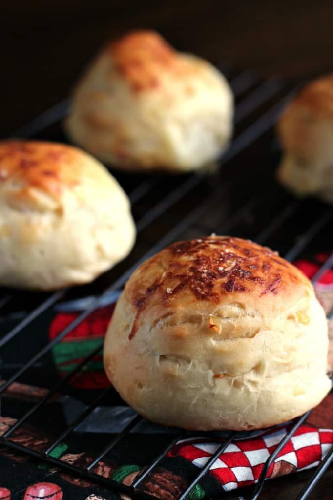 onion roll homemade bread recipe
