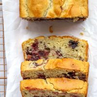 Gluten Free Cherry Quick Bread