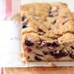 slice cherry bread