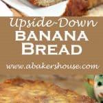 upside down banana bread