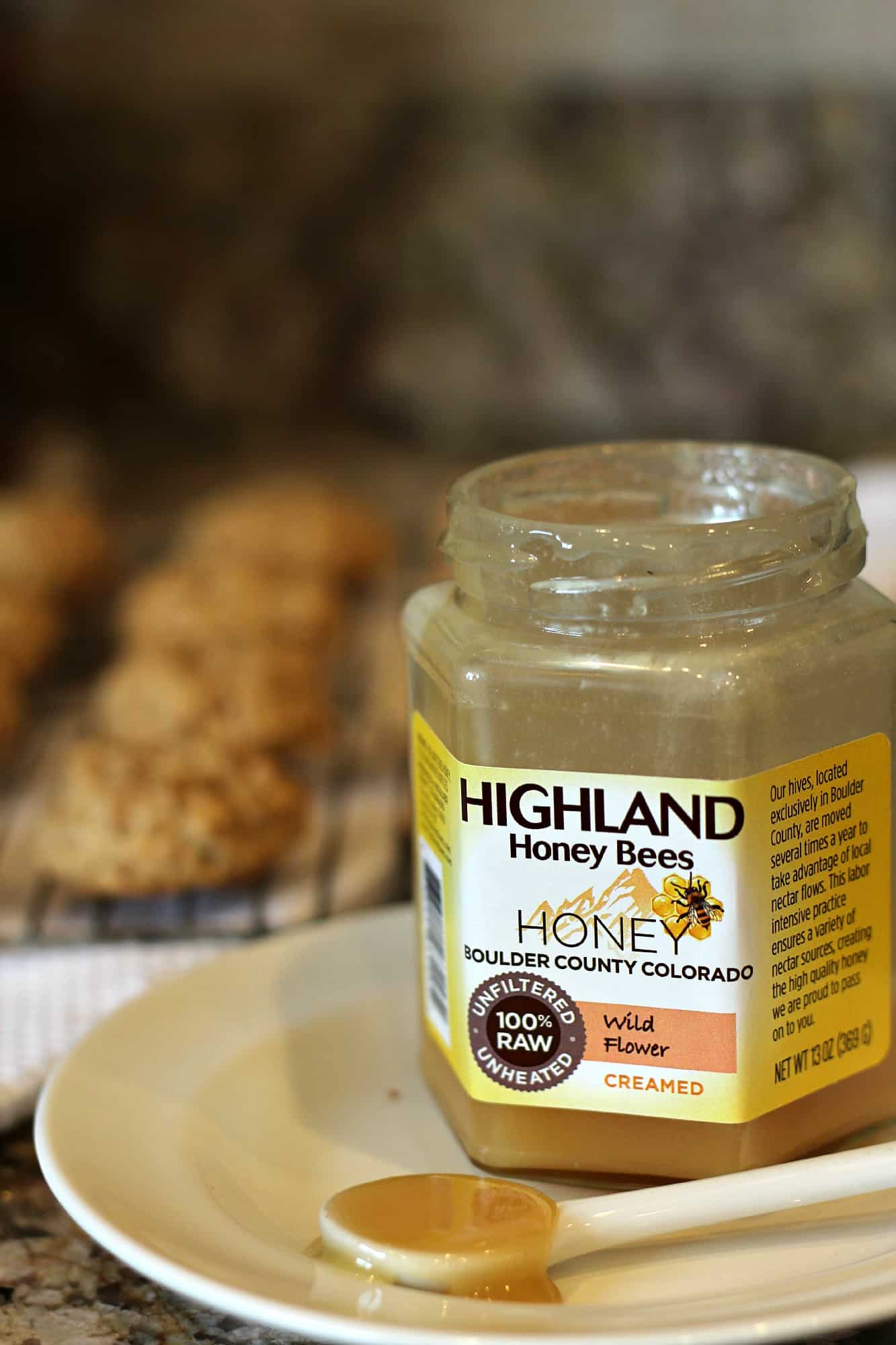 Honey Granola Cookies | A Baker's House