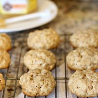 Honey Granola Cookies