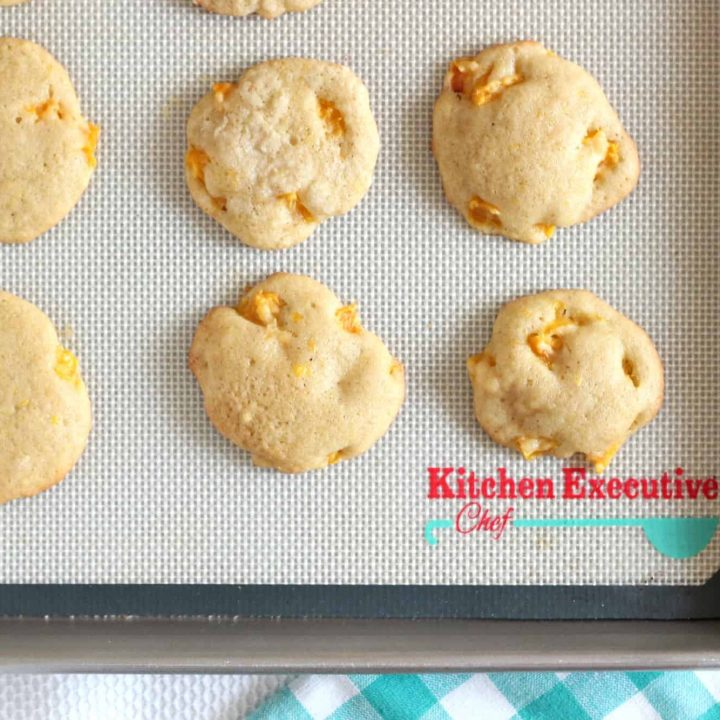 Nectarine Drop Cookies
