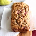 This recipe is loaded with pears, pecans, and raspberries.