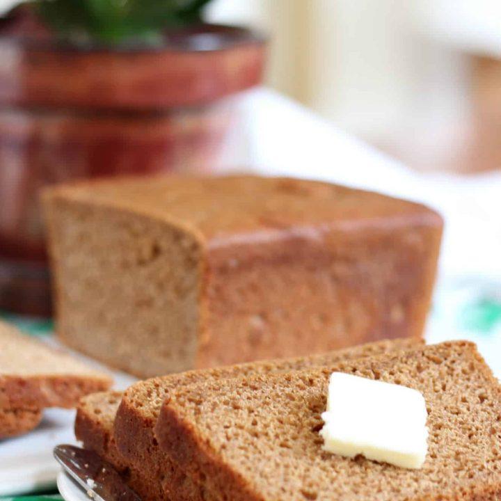Easy No Knead Whole Wheat Bread