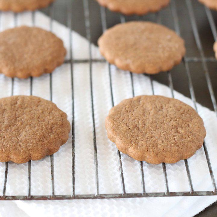 Pepparkakor (Swedish Ginger Cookies)