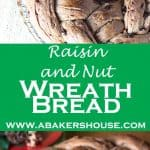 Raisin Nut Wreath Bread