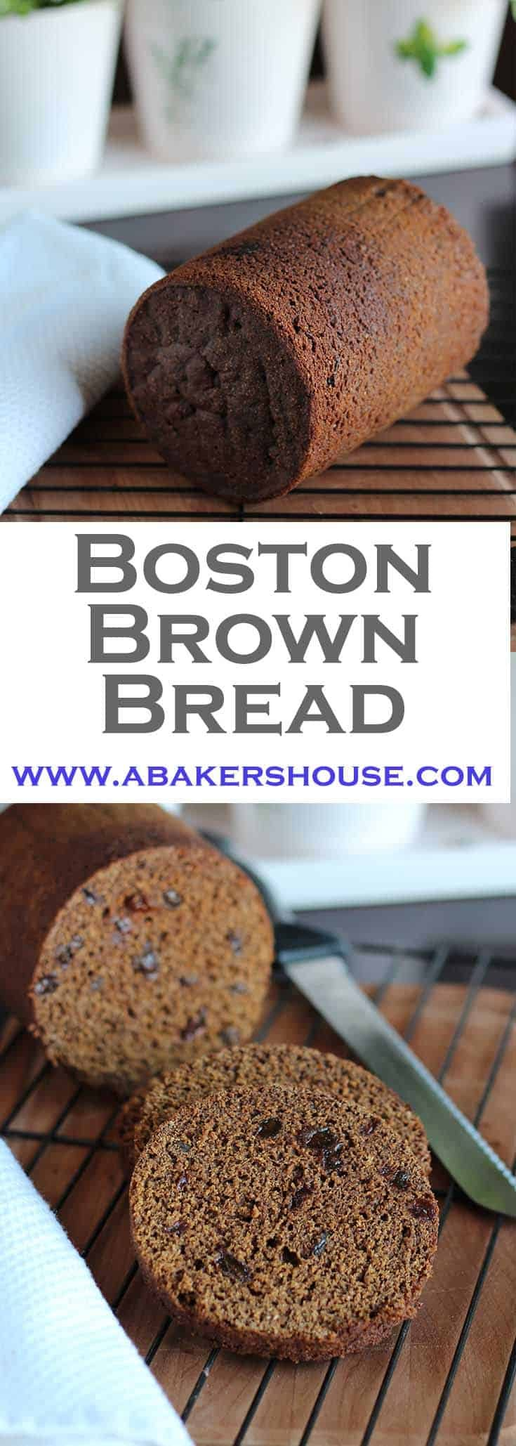 Bread baked in a can? Yes! Try this recipe for Boston Brown Bread from the Epicurious site. It's a unique bread steamed in a tin can such as a coffee container.