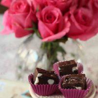 Chocolate Fudge with Dried Cherries