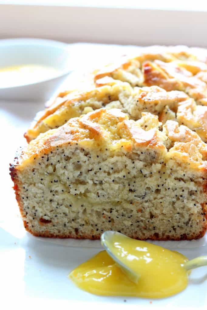 lemon poppy seed bread with lemon curd recipe