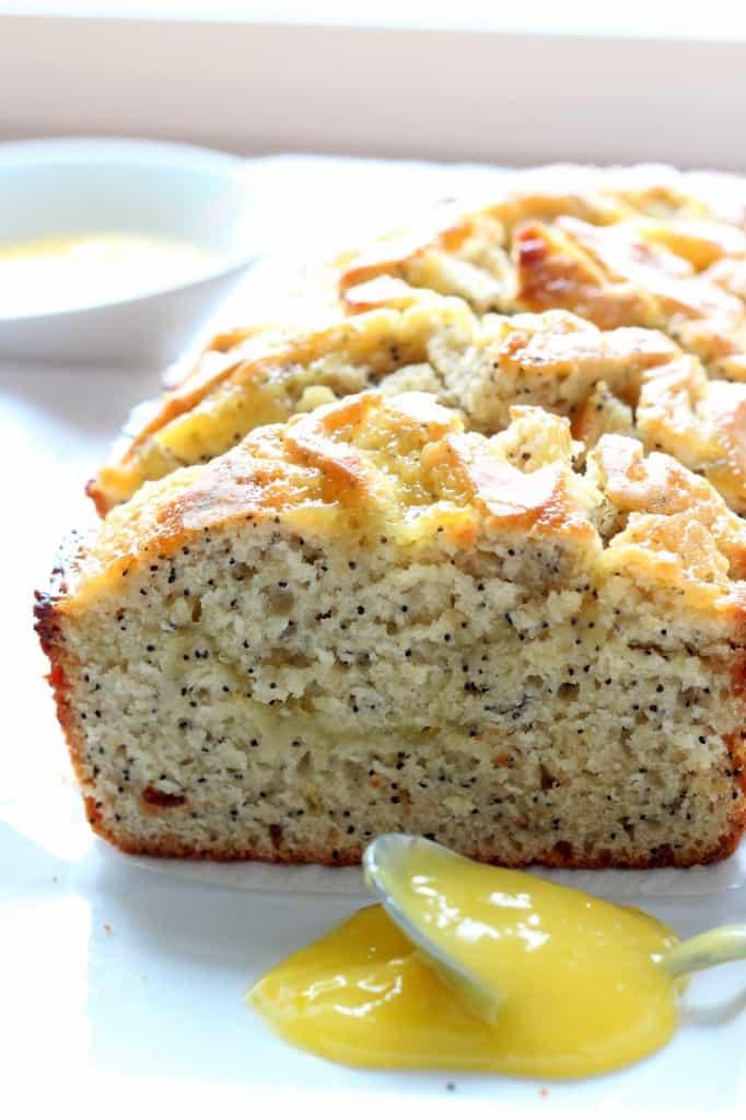 lemon poppy seed bread with lemon curd recipe
