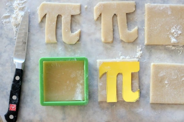 pi cookie template