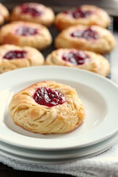 jam filled danish pastry