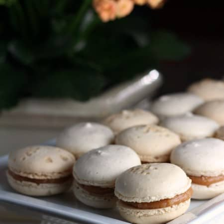 Salted Caramel Macarons #CreativeCookieExchange