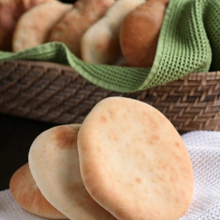 Simple pita bread homemade bread recipe