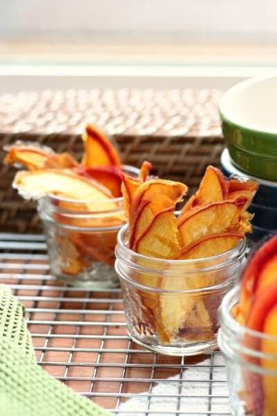 dried peach chews