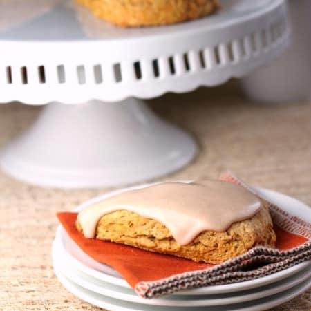 Pumpkin Scones with #BreadBakers