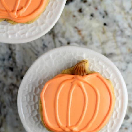 Pumpkin Spice Cut Out Cookies with #CreativeCookieExchange