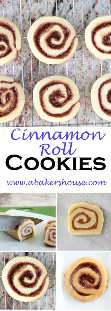 Cinnamon Roll Cookies Step by Step