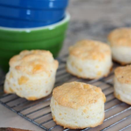 Cheese and Garlic Biscuits with #Breadbakers
