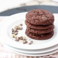 Mint Chip Chocolate Cookies
