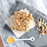 Honey Oat Granola Bars with #Sprouts
