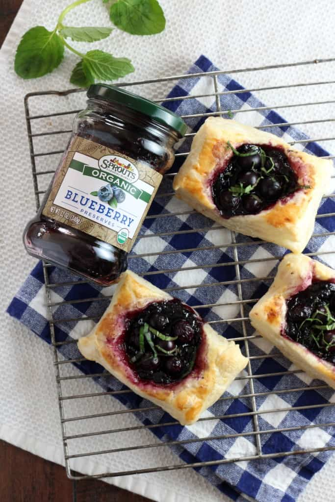 Sprouts Organic Preserves Blueberry Tarts