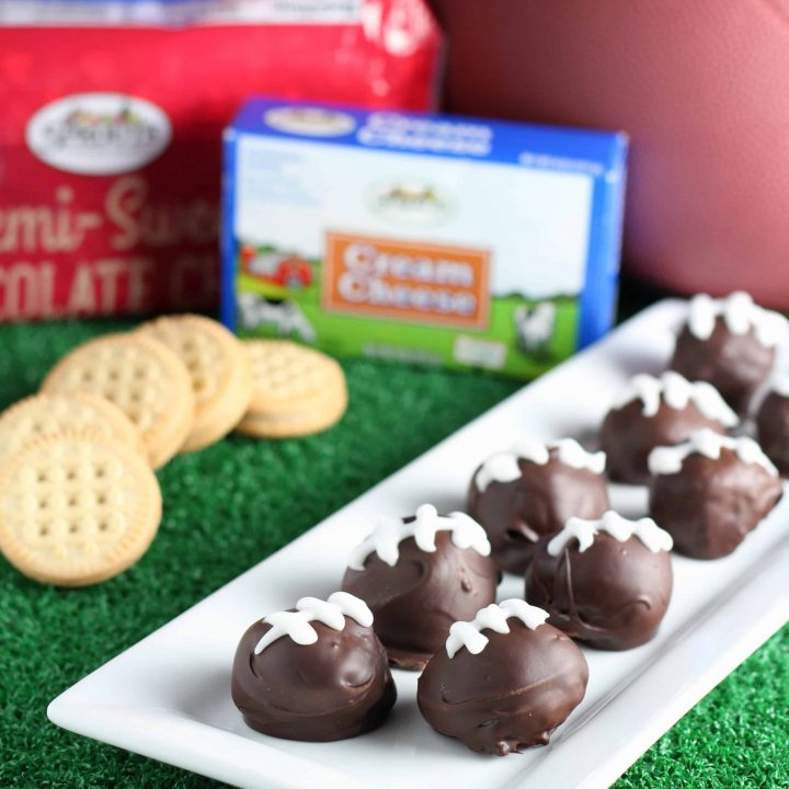 Football Cookie Balls with #Sprouts