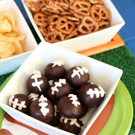 Football Cookie Balls