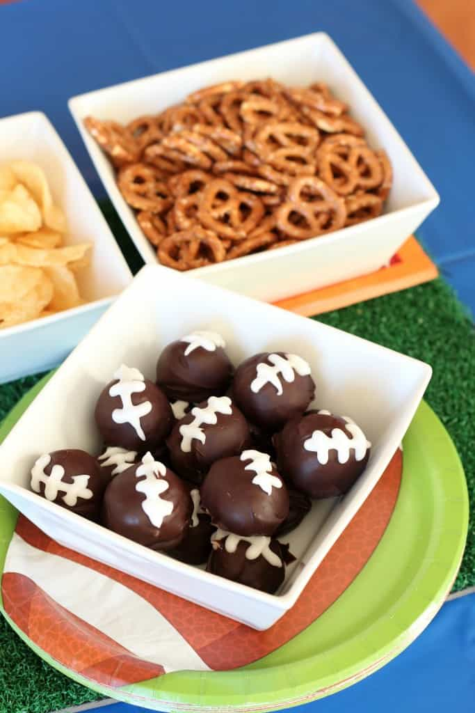 Football Cookie Balls