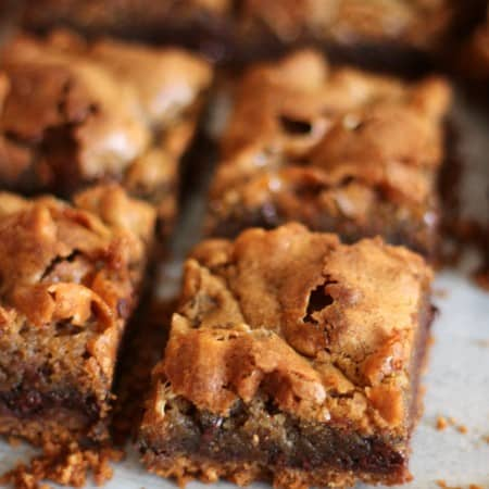 smores blondies
