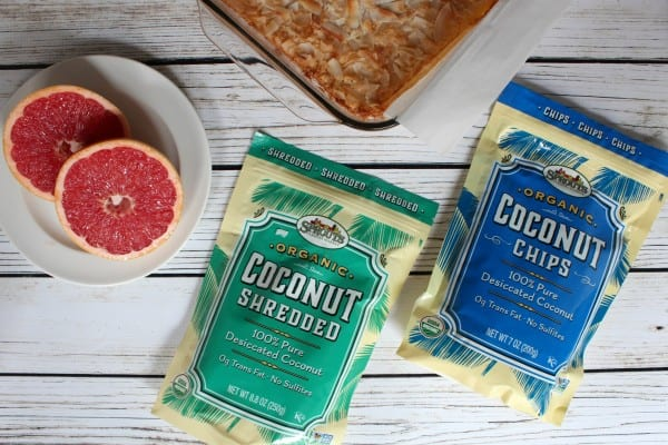 two bags of coconut products from Sprouts Farmers Market